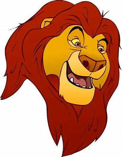 Lion King Cartoon Clipart Characters Cliparts Rei