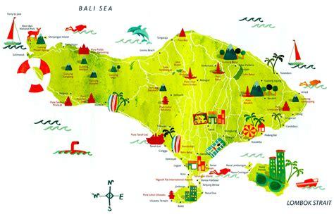 bali maps bungalow sebelas