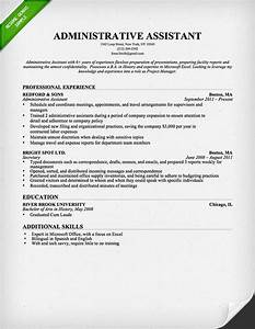 administrative assistant executive assistant cover With free administrative assistant resume templates