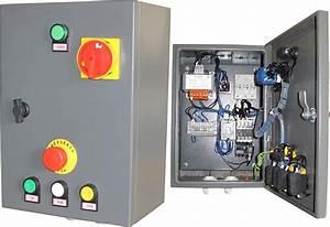 Armoire Electrique 380V Triphase De Rechange Pour QJY240B