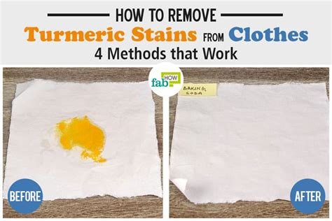 how to remove color stains from clothes how to remove turmeric stains from clothes 4 methods that