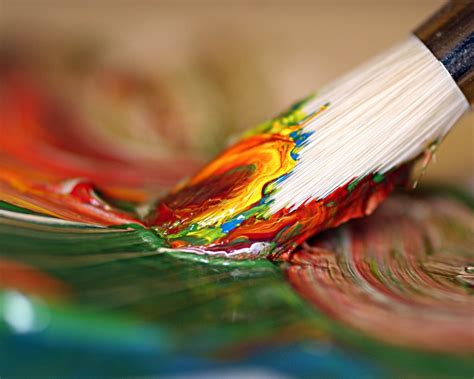 Peintures Pinceaux De Pinceau Pinceau Papier Peint