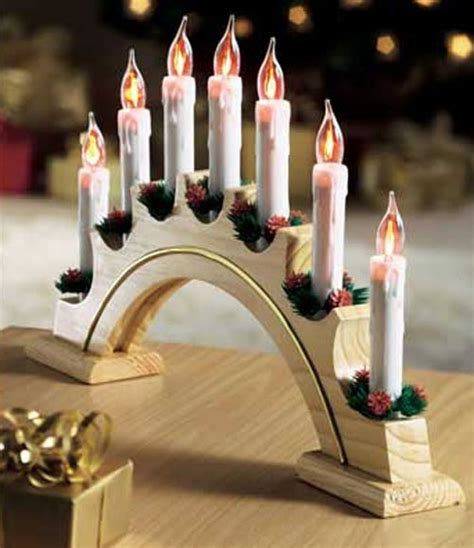 china flickering candle arch christmas lights candle