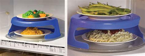 dual microwave plate holder  green head
