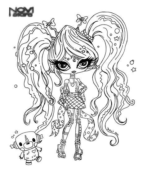 coloriage monster high baby les beaux dessins de