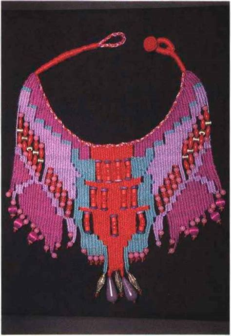 anasazi indian colors fiber jewelry beading magazine