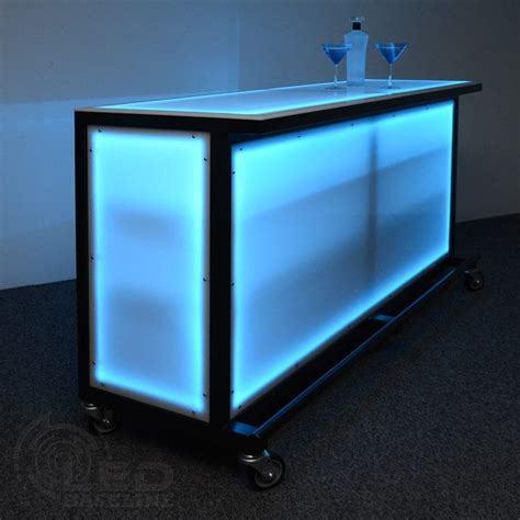 Portable Bar by Led Lighted Portable Bar Portable Bars For Special Events
