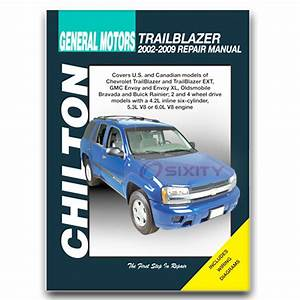 Buick Rainier Chilton Repair Manual Cxl Plus Shop Service Garage Book Ms