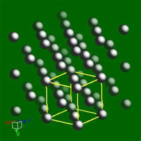 webelements periodic table lead crystal structures