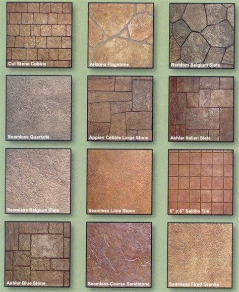 concrete color and design best 25 sted concrete patterns ideas on