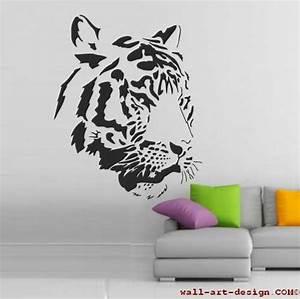 Wandtattoo Wall Art : wandtattoo online shop f r preiswerte wandtattoos tigerkopf wandtattoo ~ Sanjose-hotels-ca.com Haus und Dekorationen