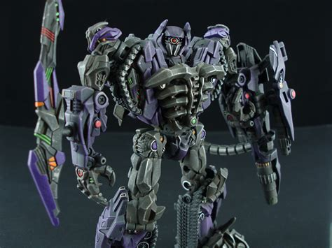 Transformers Dotm Shockwave By Speedleescustoms On Deviantart