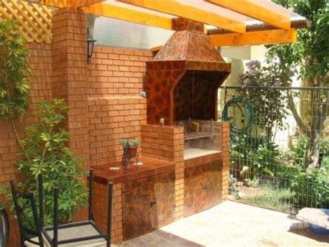 outdoor cabinets kitchen dise 241 o quincho en terraza proyectos chile asadores 1289