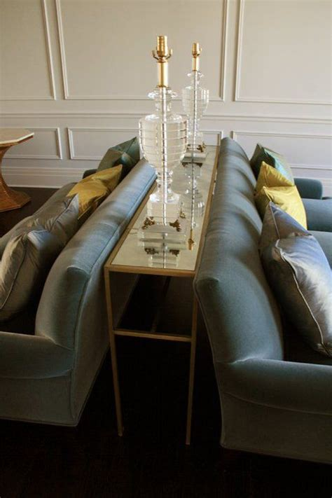thin console table     couches
