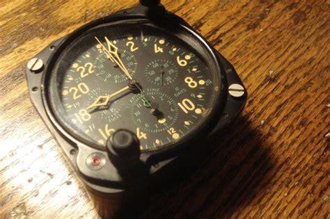 find vintage hamilton   day clock ww usn aircraft