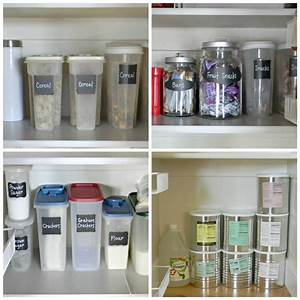 pantry organization organize and decorate everything With best brand of paint for kitchen cabinets with clear sticker labels