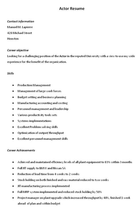 resume abroad with no experience sales no experience