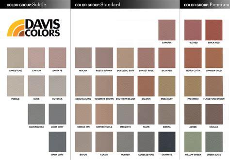 colored kitchen knives davis concrete colors 28 images davis concrete color