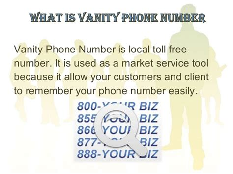 Vanity Number by Vanity Phone Numbers For Business