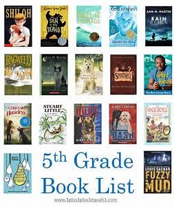 5th Grade Reading List ~ Update - 1+1+1=1