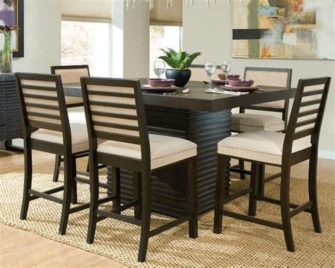counter height dining room table sets modern dining room counter height dining sets ideas