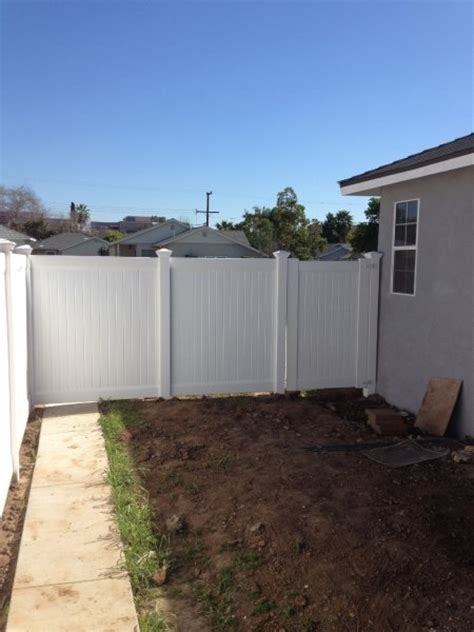 vinyl fence gallery showtime vinyl fence patio cover