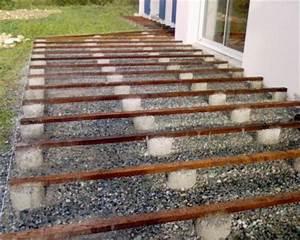 Prix Terrasse Bois : terrasse bois lambourde ~ Edinachiropracticcenter.com Idées de Décoration