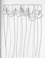 Curtains Drawing Stage Window Open Curtain Coloring Drawings Sketch Template Pages Getdrawings 2180 1697 Daily sketch template