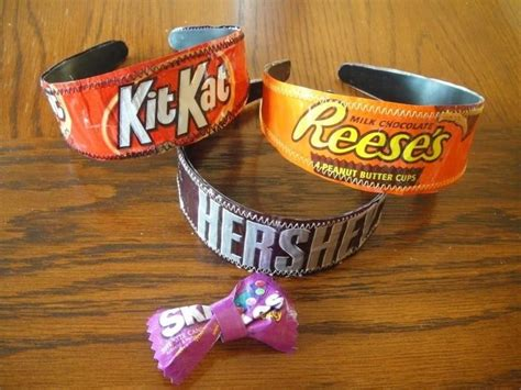 See more ideas about chocolate bar wrappers, bar wrappers, candy crafts. 11 Clever Candy Wrapper Crafts You Can Do After Binging on Halloween Chocolate « Halloween Ideas