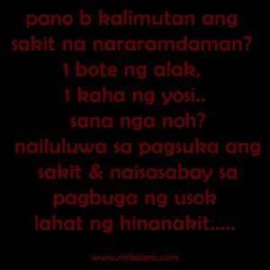 New Tagalog Sad Love Quotes. QuotesGram