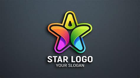 Star Person Logo Design PSD - GraphicsFamily