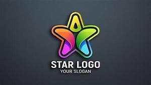 Star, Person, Logo, Design, Psd, U2013, Graphicsfamily