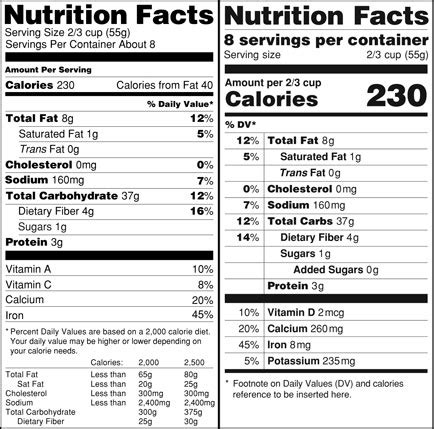 schã ne nã gel design nutrition facts label