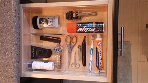 Bathroom Cabinet Drawer Organizers S Bathroom Drawer Organizer Custom Acrylic Drawer