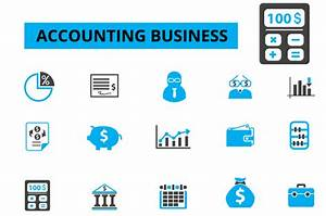 Free Vector Icons Accounting » Designtube - Creative ...