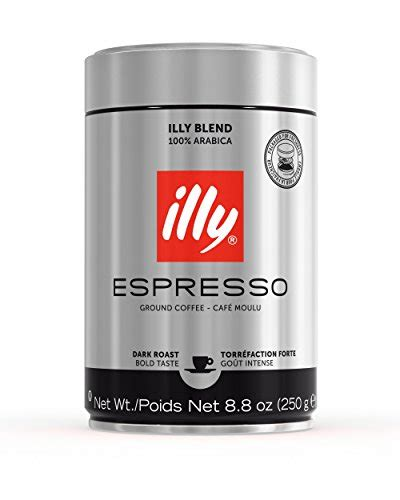 I am desperately looking for illy ground coffee in the silver tin. Buy illy Dark Roast Ground Coffee at Coffeeprima