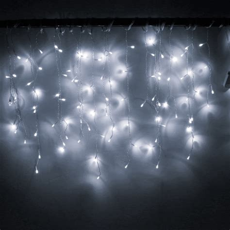3 5m 96led window curtain icicle lights string fairy light