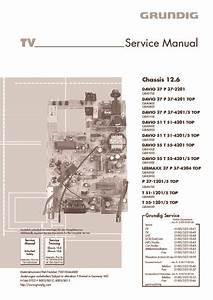 Grundig Tv Chassis 12 6  Service Manual  Repair Schematics