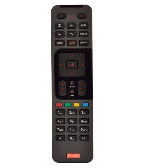 buy airtel digital tv dth remote compatible  sd stb