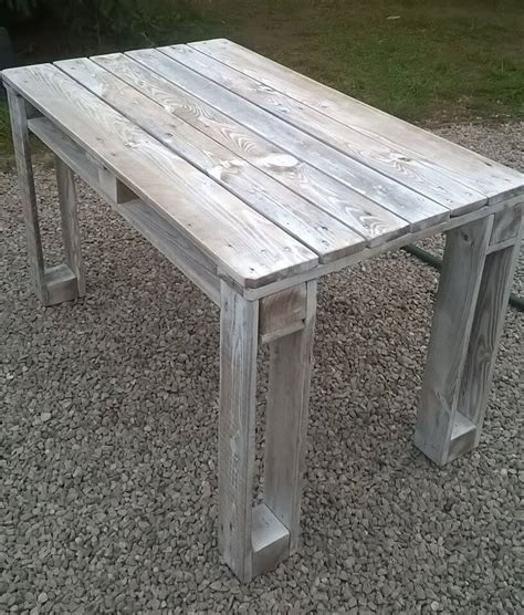 white washed table ls salontafel pallet white wash msnoel com