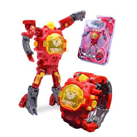 Pictures Of Bumble Bee Transformer Transformer Watch Robot Cartoon Wristwatches Children Kids Action Figure Toys Uk Ebay