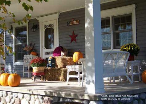 fun fall decorating ideas   front porch