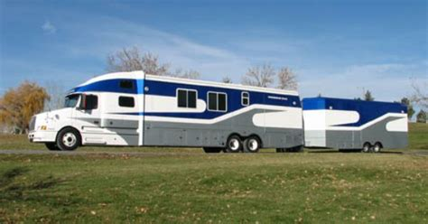 powerhouse coach motorhome  luxury coach  built     volvo model truck