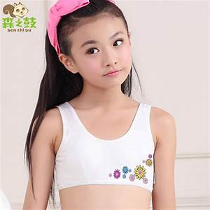 Cotton Training Bras for young kid girls 8 16 years child ...