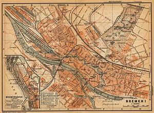Google Maps Bremen : plan de br me bremen lexilogos ~ Watch28wear.com Haus und Dekorationen