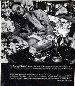 Bugsy shot to death | GANGSTERS | Pinterest