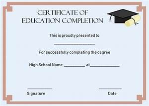 free printable participation certificates continuing education certificate of completion template