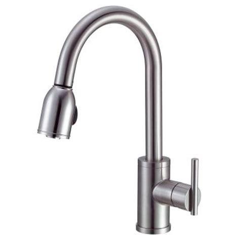 danze parma kitchen faucet danze parma side mount single handle pull sprayer
