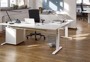 Elektrisch Höhenverstellbarer Schreibtisch : elektrisch h henverstellbarer schreibtisch von febr ~ Markanthonyermac.com Haus und Dekorationen