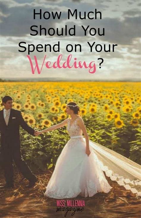 how much should you spend on your wedding video miss